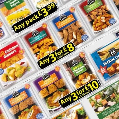 Farmfoods products