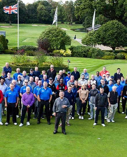 Tony Jacklin Event at The Belfry